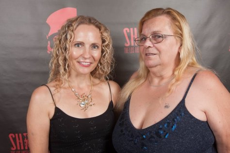 Denise and Joann Thomas, co-founder of the FANtastic Film Festival