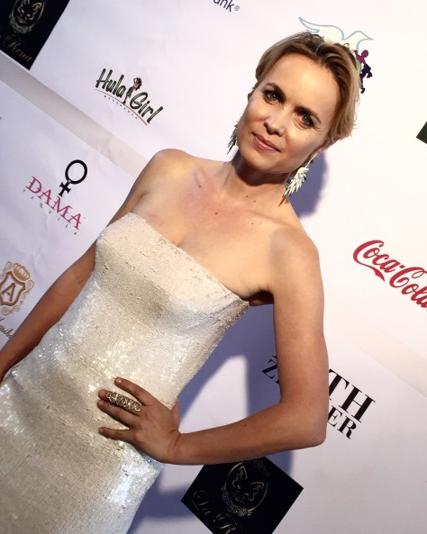 "Actress Radha Mitchell from ""London is Falling"". Photo courtesy Adrian brooks Collins"