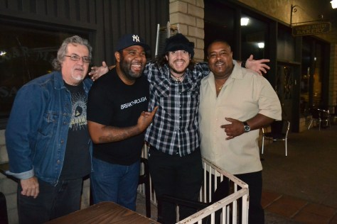 Incredible blues talent all together at the Maui Sugar Mill Saloon