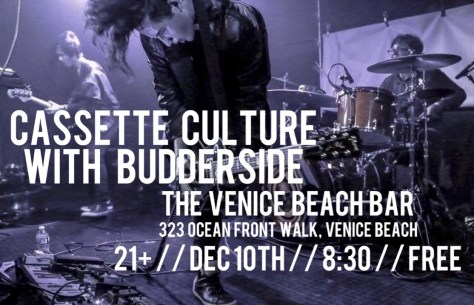 Cassette Culture and Budderside at the Venice Beach Bar