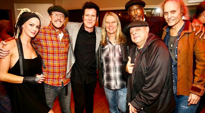 The Warren Huart Birthday Party at Sunset Sound in Hollywood