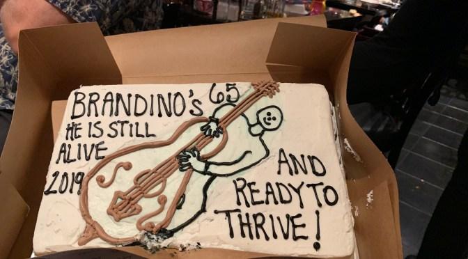 Brandino's Birthday at Mambo's Cafe ~ 2019