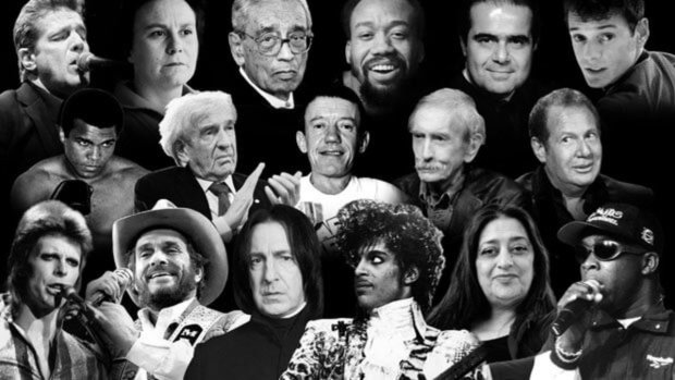 Artists Lost 2016