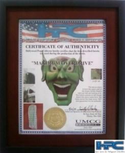 Maximum Overdrive Green Goblin Head Piece 10 of 44
