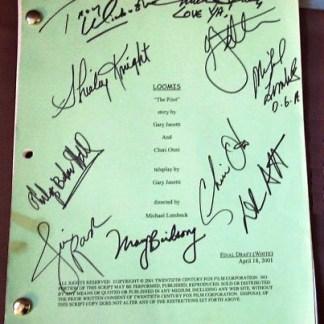 LOOMIS: Autographed Movie Script