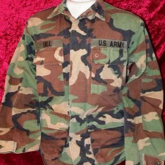 BASIC: Ranger Camo Fatigue Shirt