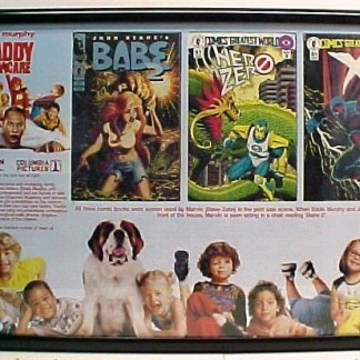 DADDY DAYCARE: 3 Screen Used Comic Books