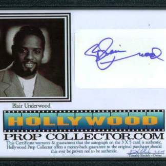 BLAIR UNDERWOOD: Framed