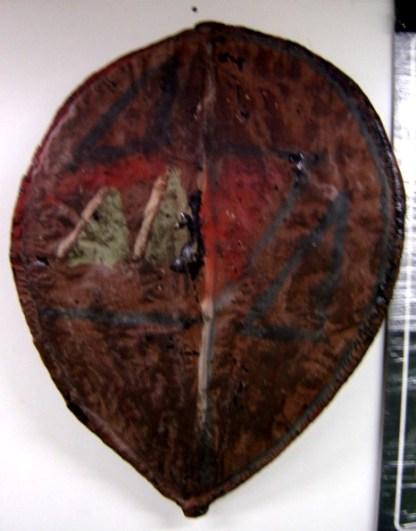 ACE VENTURA WHEN NATURE CALLS: Tribe Shield