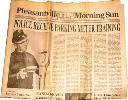 PLEASANTVILLE: Police Recieve Prop Newspaper