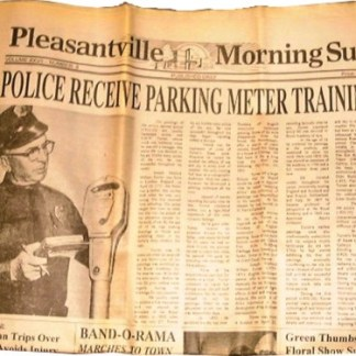 PLEASANTVILLE: Police Recieve Prop Newspaper