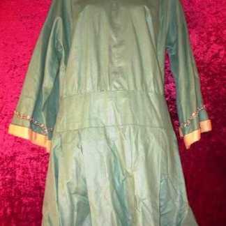 DUPLEX: Mrs. Connelly's Green Riverdance Dress