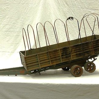 REIGN OF FIRE: Miniature Military Wagon