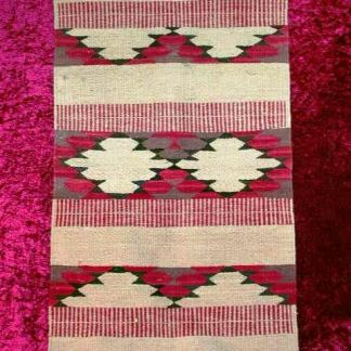 SEABISCUIT: Multi-Colored Horse Saddle Blanket