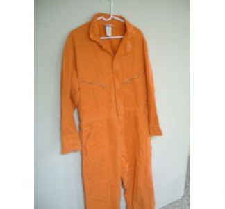 TIME COP 2: Orange  ie Jumpsuit