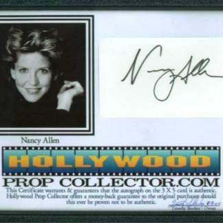 NANCY ALLEN: Framed
