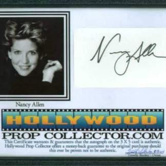 NANCY ALLEN: Framed