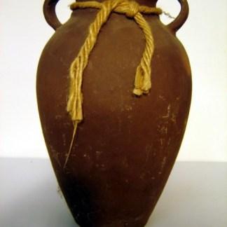 SCORPION KING: Large Brown Vase