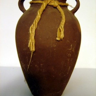 SCORPION KING: Large Brown Vase