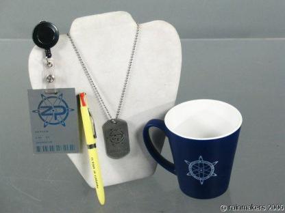 ZOOM: Zenith Coffee Mug, Name Badge, Dog Tag & Pen