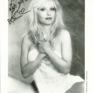 Signed Linnea Quigley Photo