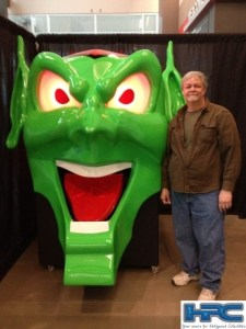 MAXIMUM OVERDRIVE: Green Goblin Head