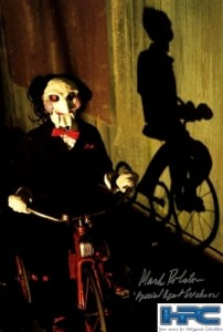 MARK ROLSTON AUTOGRAPHED  PUPPET PHOTO