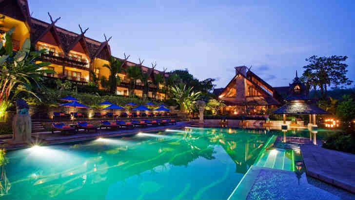 高級リゾートホテル タイ