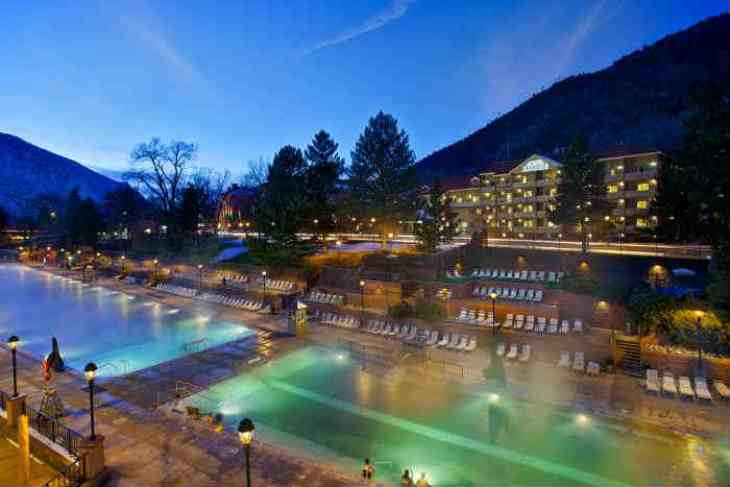 高級リゾートホテル コロラド州