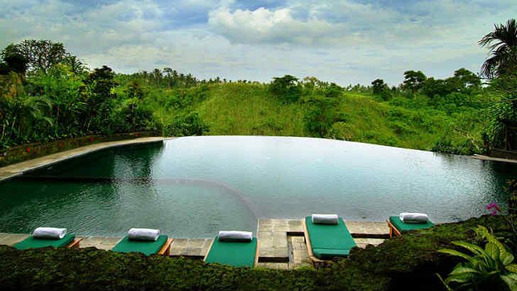 インドネシア 田舎のリゾートホテル