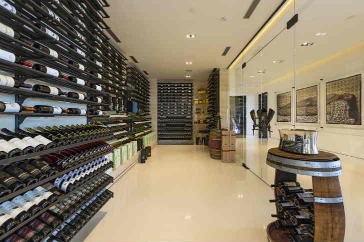超豪華なワインセラー