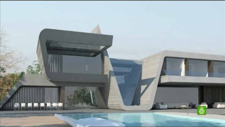 欧州サッカー選手の自宅、豪邸