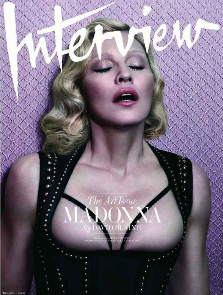 Madonna - Interview magazine