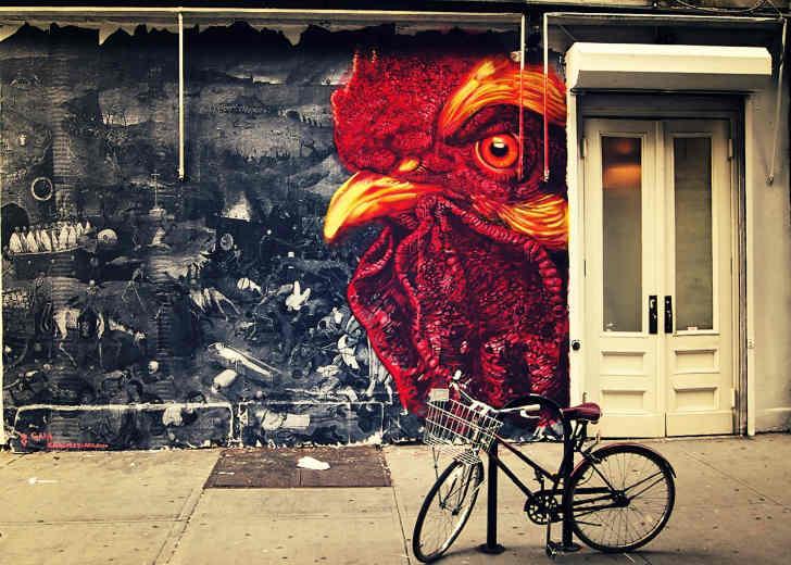 ガイア(Gaia) ストリートアーティスト