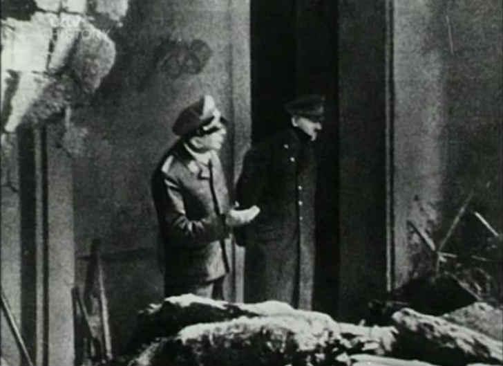 アドルフ・ヒトラー 生前最期の写真