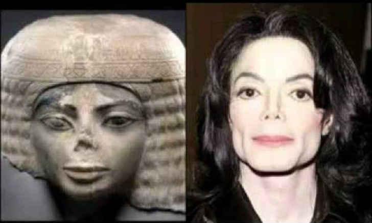 マイケル・ジャクソン エジプトの彫刻