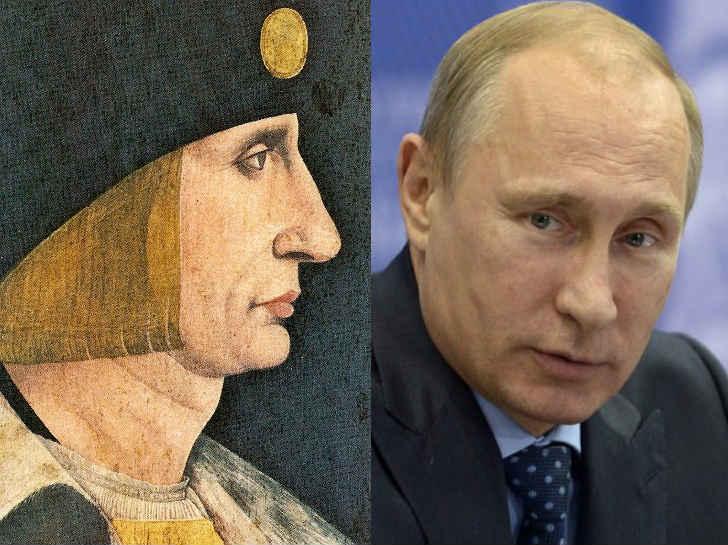 プーチン大統領 ルイ12世