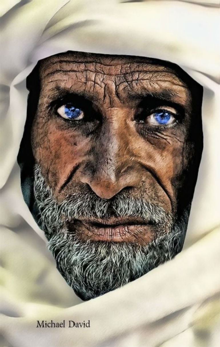 蒼い目のおじいさん