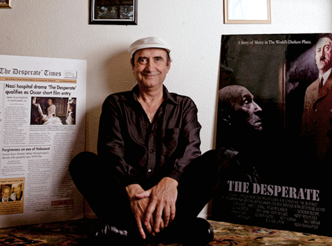"Ben-Hur Sepehr debuts his award winning short film: ""The Desperate"""