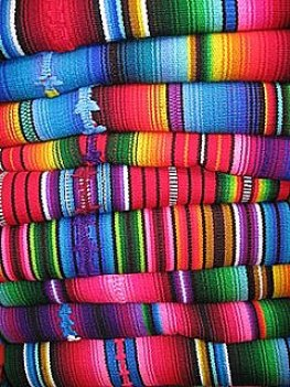 Colorful Guatemalan Rugs
