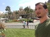 In front of Casino de Monte-Carlo