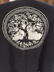 Black tree of life T shirt 4