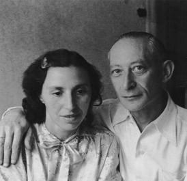 Lola with husband Eugene 1948