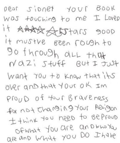 student letter 2