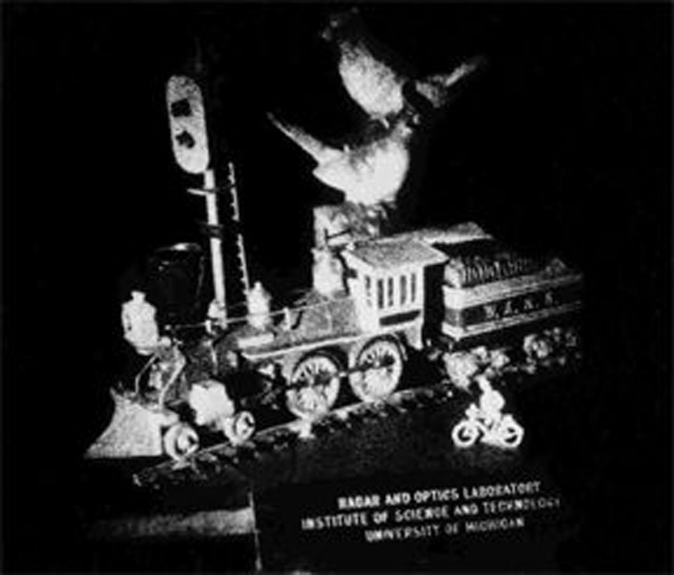 Train and Bird, 1964