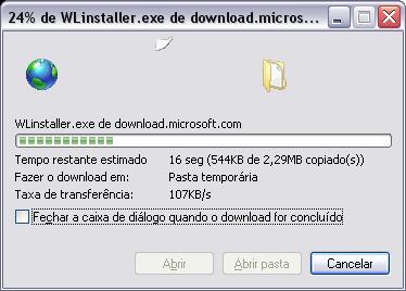 Escolher onde vai salvar o arquivo (Internet Explorer 7)