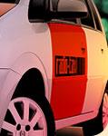 Rádio Táxi Vermelho e Branco