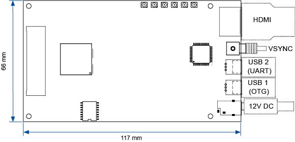 HED 6001 Monochrome LCOS Microdisplay