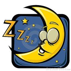 moon sleeping cartoon sleep asleep fall deep fast vector baal hi everybody dr pic shutterstock hologram abc lemon preview lightbox
