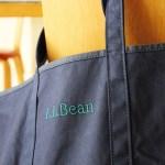 LLBeanのグローサリー・トートに新色が続登場&ついにモノグラム刺繍も可能に!シンプルだから自由に使える優秀アイテム